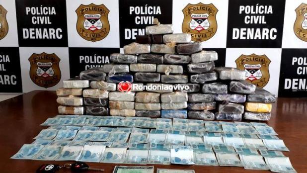 Denarc prende traficante com droga avaliada em mais de R$ 1 milhão
