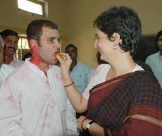 Rahul Gandhi & Priyanka Vadra