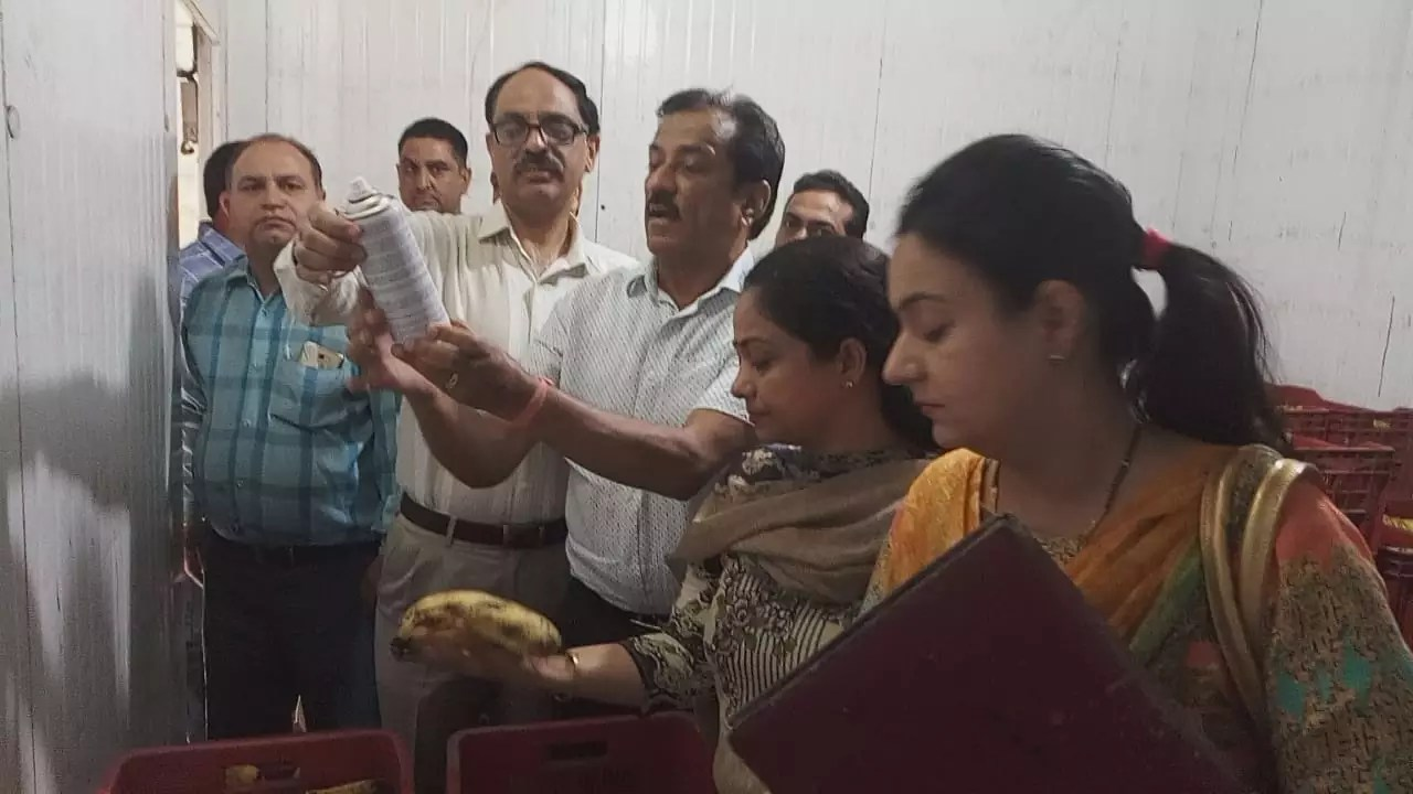 DISTRICT ADMINISTRATION CRACKDOWNS ON PERPETRATORS OF ARTIFICIAL FRUIT RIPENING IN JALANDHAR