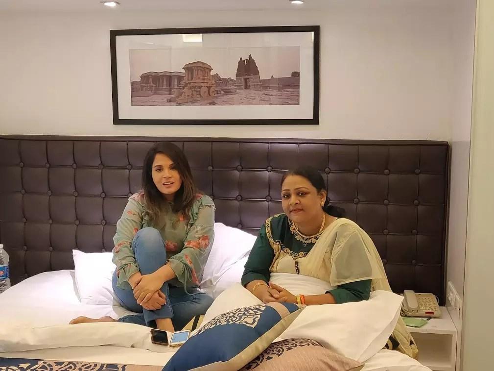 Richa Chadha meets the real Shakeela ahead of the film's shoot
