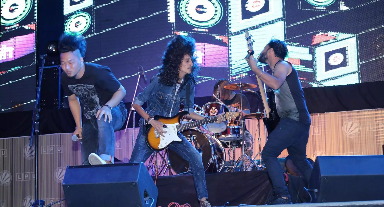 Top Indian Bands performed for Aurantiaco Music Festival organized at LPU