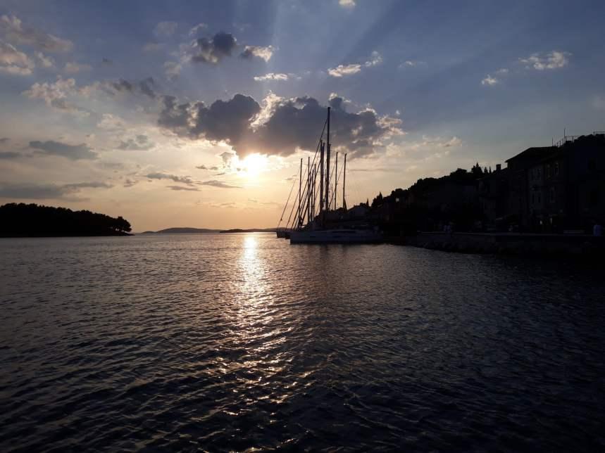Tribunj sunset
