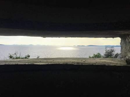 View from bunker Logorun