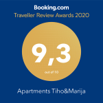 Booking review award 2020