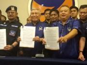 Pengurus DPP Partai Nasdem mensomasi mantan Menko Kemaritiman Rizal Ramli, atas pernyataannya pada acara Indonesia Business Forum yang ditayangkan stasiun TV One pada 6 September 2018