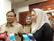 Prabowo bersama Yenny Wahid