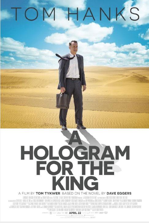 Image result for hologram for the king poster