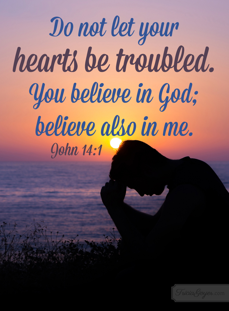 Image result for believe in God believe also in me