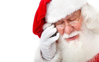 Santa Called.  He Doesn't Like Cookies.