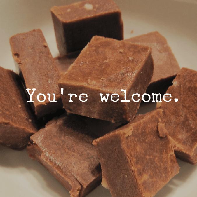 A Gift for You: My Grandpa's Fudge