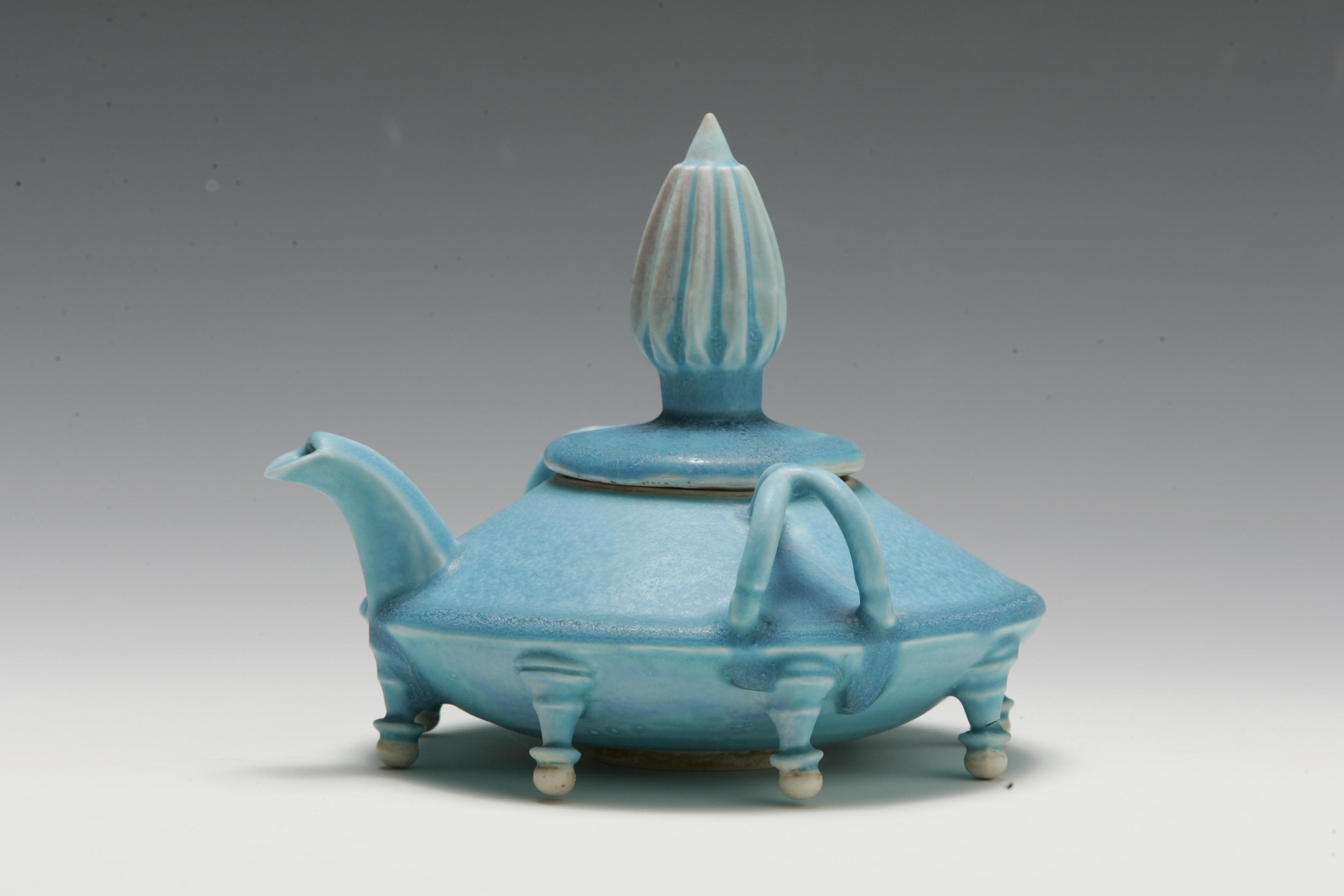 Spaceship Teapot | Tricia Ree McGuigan