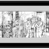 Framed mockup of Adam and Eve at Akdamar
