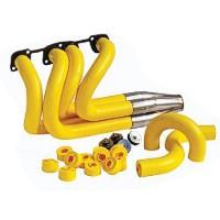 custom exhaust header design