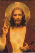 Jesus sun halo