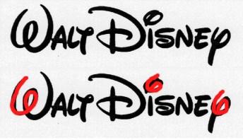 Walt Disney logo 666