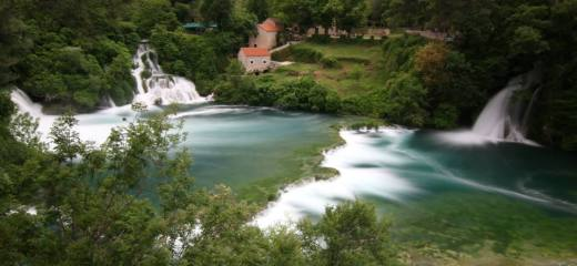 Krka from the top