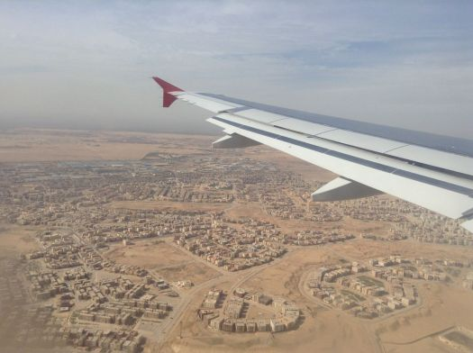Cairo from the air