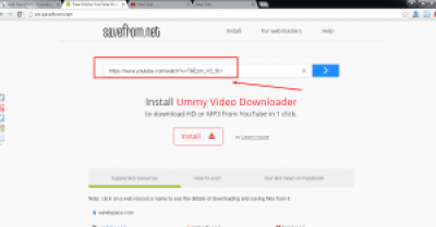 Download Youtube videos without using any software