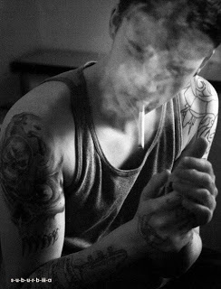 smoking boy dp pic