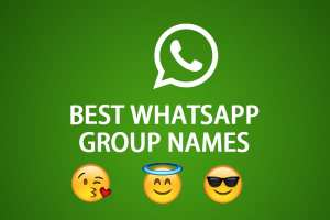 Best Whatsapp Group Names: Cool Names Collection At One Place