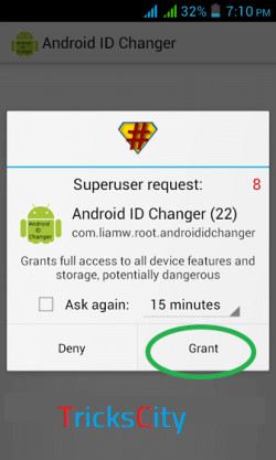 Android-ID-Changer-Grant-Root-Permission