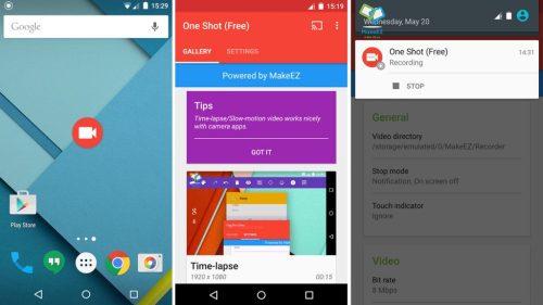 One-Shot-screen-recorder-app-download