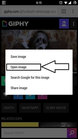 send gif images on whatsapp