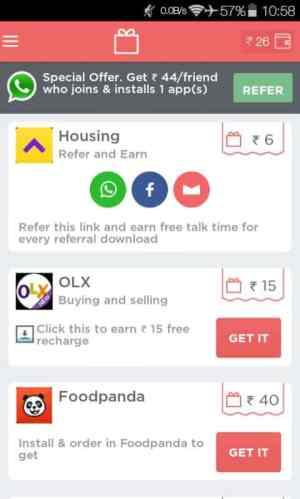 aplicativo de recarga gratuito