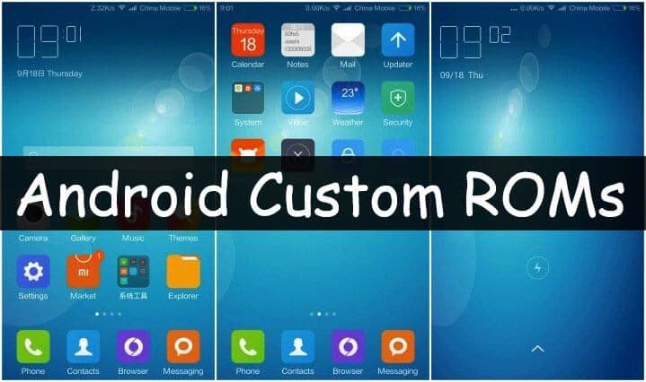 best-android-custom-roms