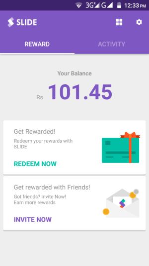 aplicativo slide-free-paytm-cash