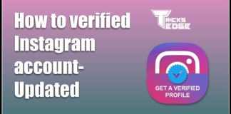 How to verified Instagram account