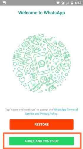 whatsapp GB