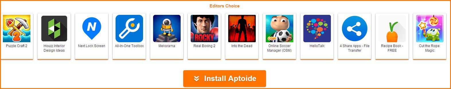aptoide apps