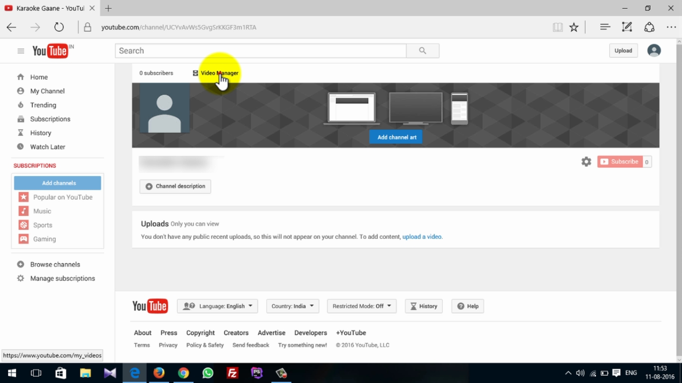 How To Activate Adsense On Youtube 2