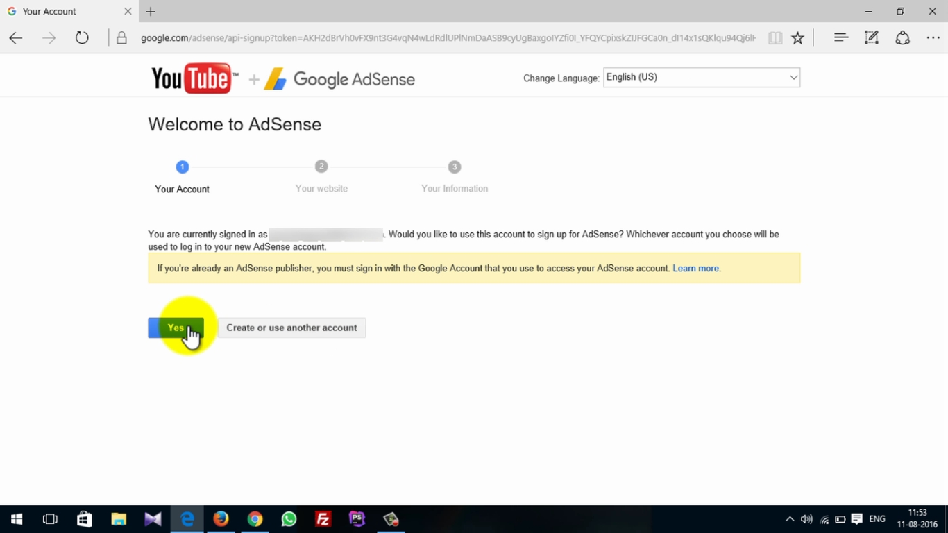 How To Activate Adsense On Youtube 8