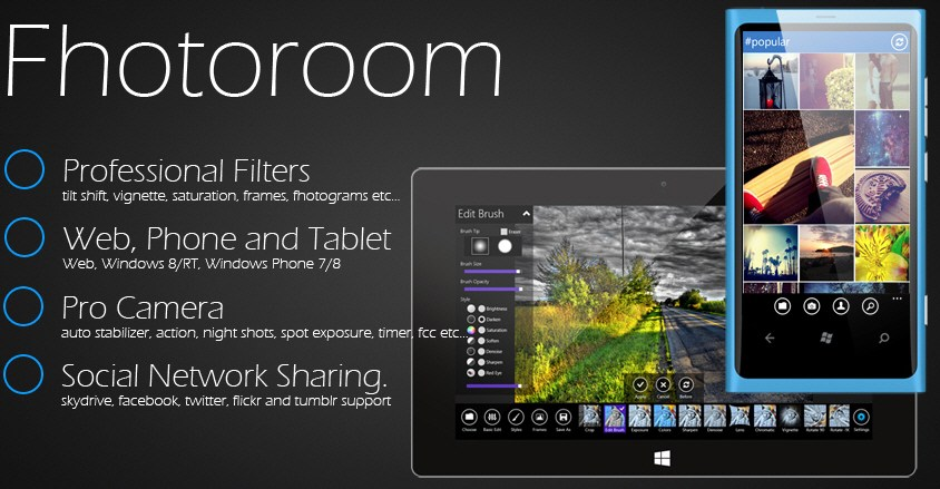 Fhotoroom Photo Editor for Windows