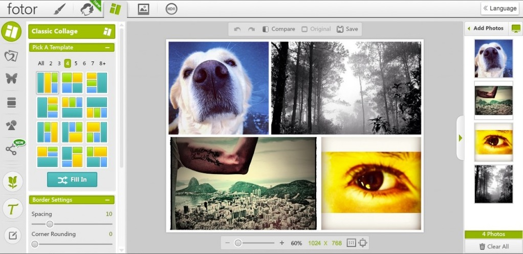 Fotor Photo Editor for Windows