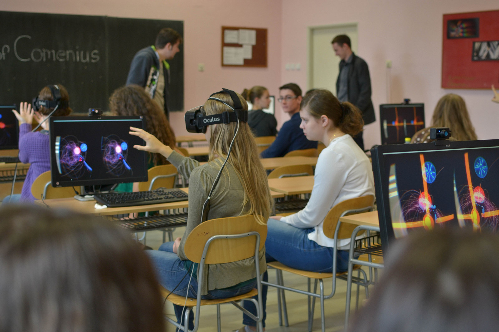Virtual Reality Use in Education