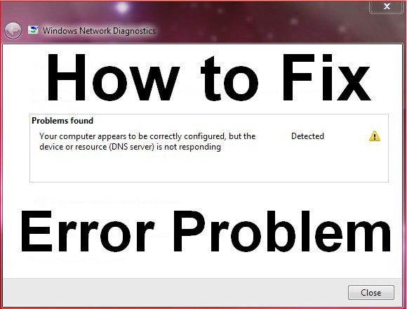 Troubleshoot dns_probe_finished_nxdomain