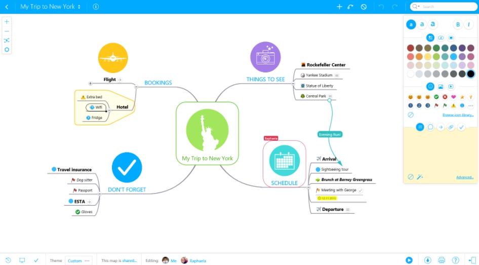 MindMeister App Use