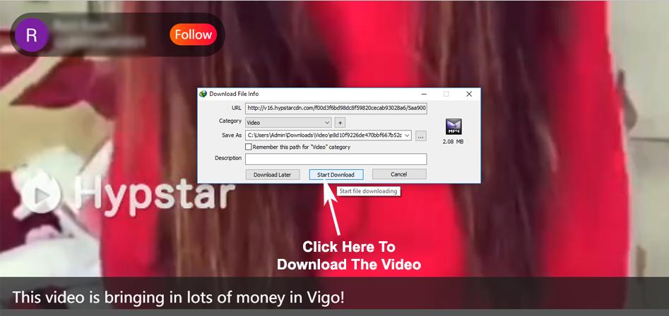 Download Vigo Video in PC