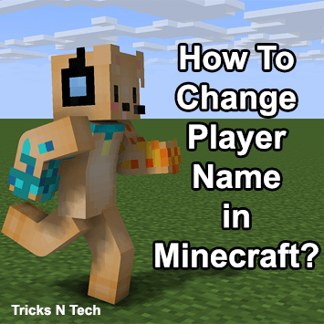 How To Change Player Name In Minecraft Tricks N Tech