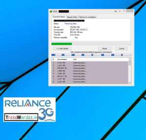 Reliance 3G Super Fast Free Internet Trick Unlimited