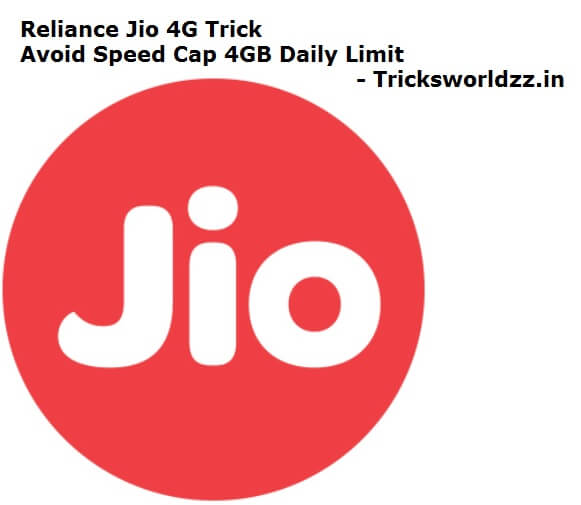 Exclusive Reliance Jio 4G Trick Avoid Speed Cap 4GB Daily Limit