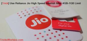 Best 4G Free Internet Plans from Reliance Jio 4G LTE