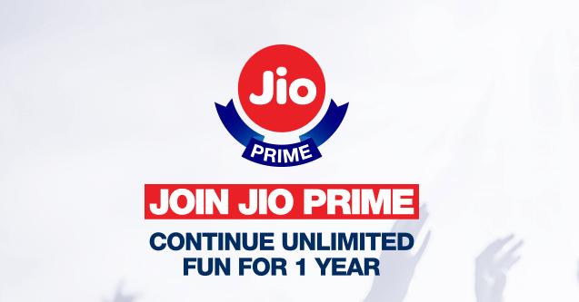 Reliance Jio Prime Extra Benefits