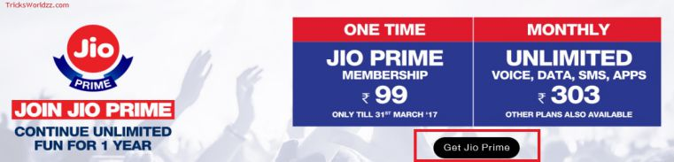 Buy JioPrime from Jio.com