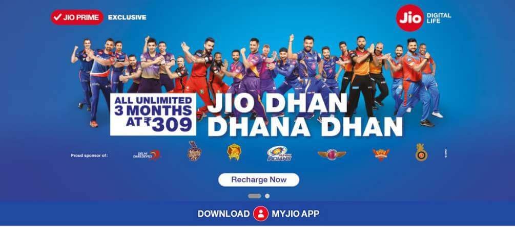 Reliance Jio Price Comparison with Airtel, Idea, Vodafone