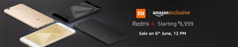 Buy Xiaomi Redmi 4 Flash Sale 12 PM