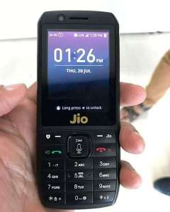 Book Free Reliance JioPhone 4G Mobile